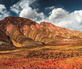 Deserts de la cordillere des Andes
