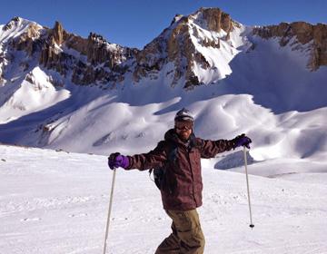 Faites du ski aux pistes de Las Lenas